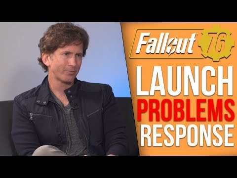 Todd Howard Expected Fallout 76 Launch Problems & Bethesda's Response to Backlash