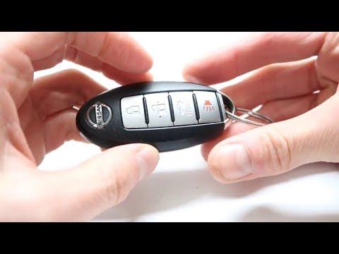 Вскрытие брелка и замена батарейки Nissan Leaf, Nissan Teana, Infiniti FX, Suzuki SX4