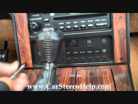 How To Chevrolet Corvette C3 Bose Stereo Radio Stereo Removal 1984 - 1989 Cd Tape Repair Fix Mp3
