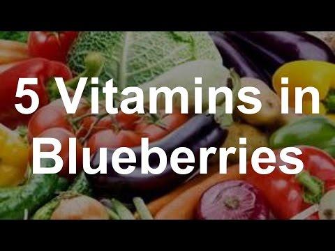Video 5 Vitamins in Blueberries - Health Benefits of Blueberries
