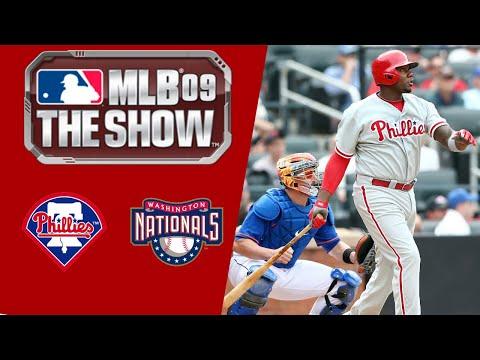 MLB 09 The Show PS3 Gameplay 2019 Washington Nationals Franchise Mode Ep.3
