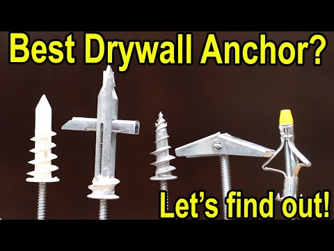 Which drywall anchor is best?