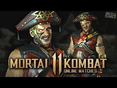 Mortal Kombat 11 Online - EXCLUSIVE Cangaceiro Kano Skin!!