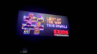 Exide wishes Happy Diwali with a lit up Hashtag sign