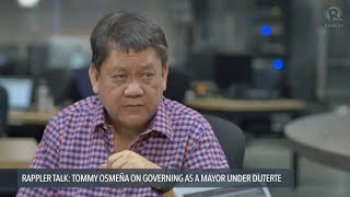 Duterte can't just rely on cops to end drugs – Mayor Osmeña