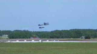 Blue Angels and a UFO