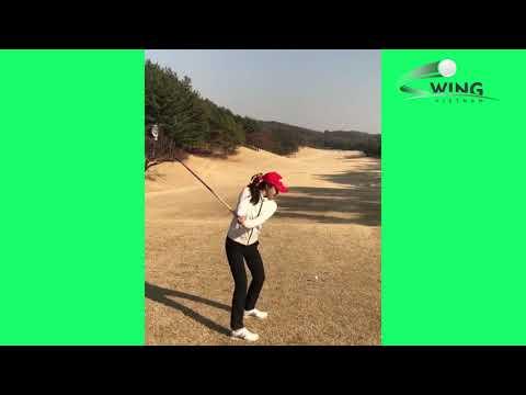 Super hot video of  Shinae Ahn  Golf Swing Compilation  GOLF TIP