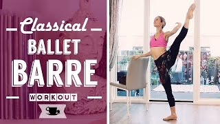 Classical Full Ballet Barre Workout by Lazy Dancer Tips
