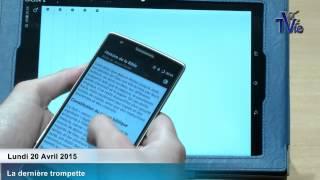 Presentation de l'application mobile de la BJC (20/04/15)