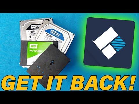 أستعد بيانتك من كل مكان [USB, SSD,HHD,MC] بأستخدام برنامج واحد Recoverit
