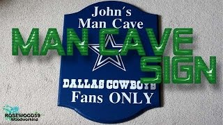 How To Make A Man Cave Sign