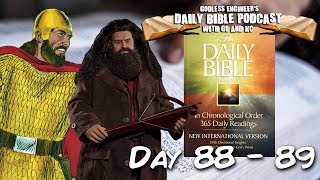 Saul Kidnaps a Bunch of Haggrids || GE & KC's Daily Bible Podcast, Days 88 - 89
