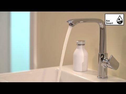 Mitigeur de lavabo 230 sans tirette ni vidage chromé