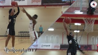 ELITE Point Guard Skyy Clark GOES IN HIS BAG at Section 7 Team Camp!!!