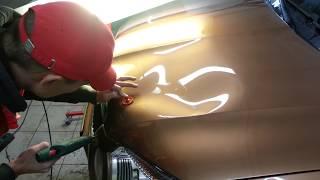 Как быстро убрать большую вмятину без покраски в Архангельске