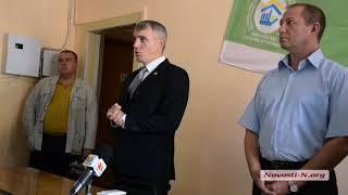 """Видео """"Новости-N"""": Сенкевич представил нового директора департамента ЖКХ"""