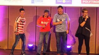 Pelatih (Herry IP dan Aryono) bicara tentang Kevin Sanjaya