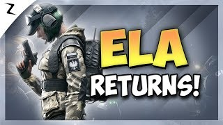 Ela Is Back - Rainbow Six Siege