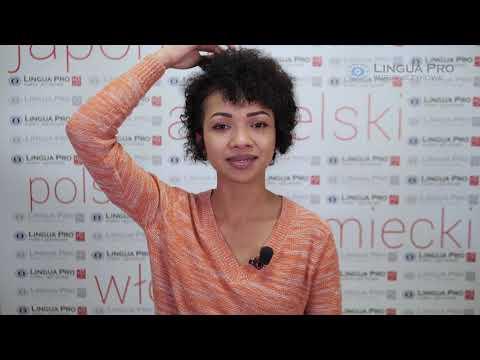 Kadr z filmu na youtube - Części ciała