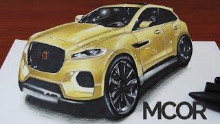 Drawing a 3D Car - Jaguar CX17