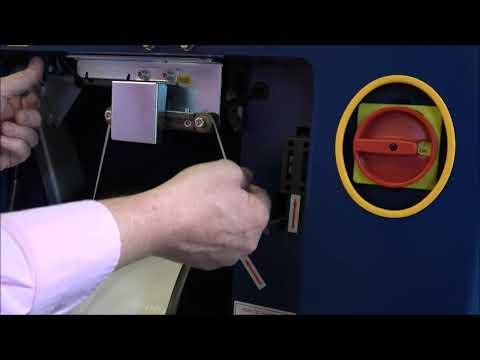 Ampag Speed: Omsnoeringsband invoeren