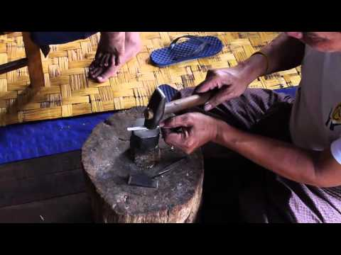 The Traditional Silversmiths of the Floating Villages of Inle Lake Myanmar (Burma)