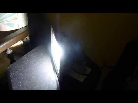 Luz LED para exteriores tipo reflector o floodlight