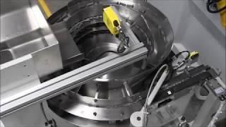 Centerless Grinders | Glebar's GT 610 CNC Centerless Infeed Grinding Aerospace Fasteners