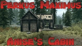 Skyrim Perkus Maximus 70 Mod Lets Play - Anise's Cabin Ep 4