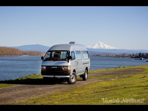 SALE REVIEW: 1992 TOYOTA HiAce Cruising Cabin 4wd Pop-Top
