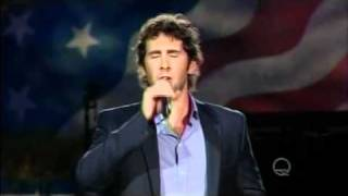 "A Capitol Fourth 7/4/2011-- Josh Groban singing ""War At Home"""