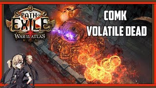 Path of Exile 3.1 Cast on Melee Kill Volatile Dead Build Concept | Abyss League