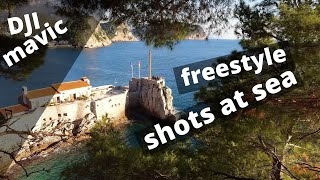 Dji mavic freestyle shots at sea
