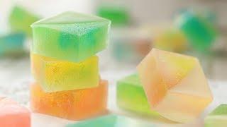 Kohakuto 宝石みたいな甘酸っぱい琥珀糖の作り方|HidaMariCooking
