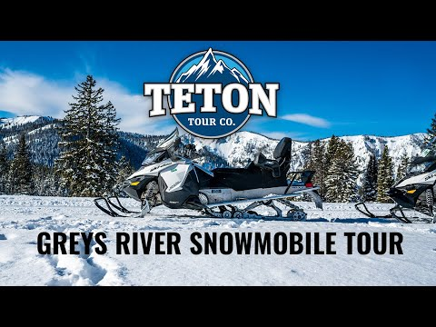 Greys River Snowmobile Tour