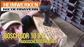 Akkuschlagschrauber Bosch GDR 10,8 LI Heiß gelaufen