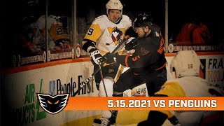 Penguins vs. Phantoms | May 15, 2021