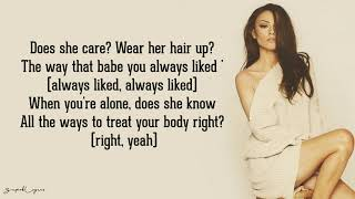 Cher Lloyd - None Of My Business (Lyrics)