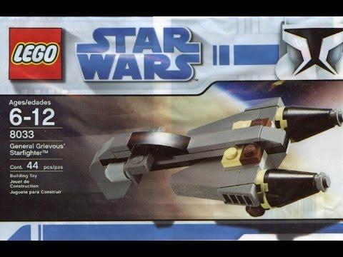 Vidéo LEGO Star Wars 8033 : General Grievous' Starfighter (Polybag)