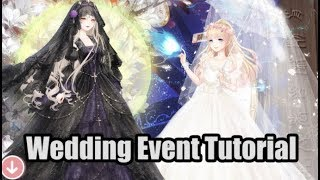 Love Nikki - 5th Wedding Event Tutorial - Gothic Bride