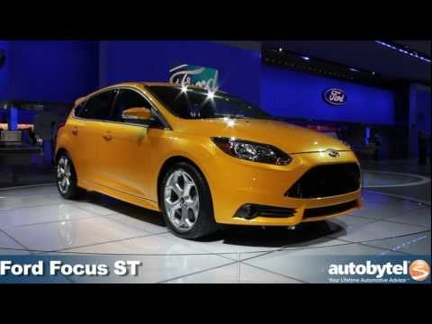 Ford Focus ST at the 2012 Detroit Auto Show video