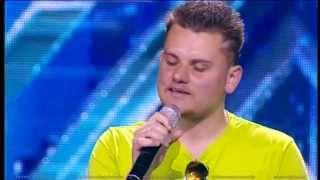 Василий Юрьев. X Factor Казахстан. Прослушивания. Первая Серия. Пятый сезон.