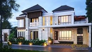 Video Mr. Agus Eka Villa Bali House 2 Floors Design - Gianyar, Bali