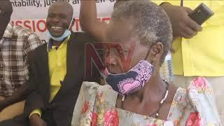 Kayunga women protest against parish model