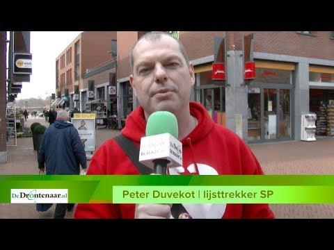 Gemeenteraadsverkiezingen Dronten, 21 maart | Lijst 6: SP