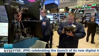 JPMorgan Chase & Co. Rings the NYSE Closing Bell