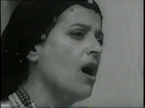 שיר  מתוך ההצגה ירמה של  לורקה
