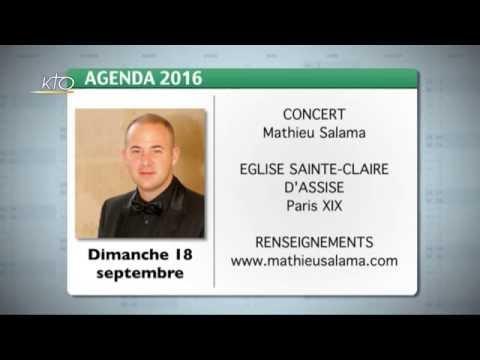 Agenda du 2 septembre 2016