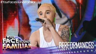 "Your Face Sounds Familiar: Sam Concepcion as Eminem - ""Real Slim Shady"""