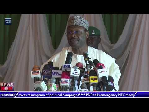 INEC assures Nigerians of readiness to hold polls